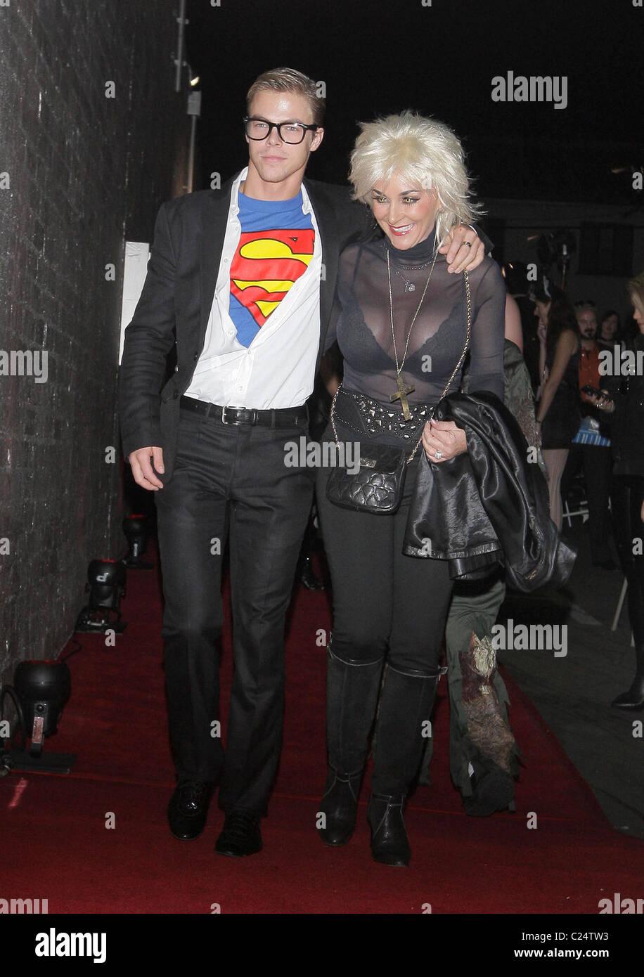 Derek Hough and guest Heidi Klum and her husband Seal host a Stock ...