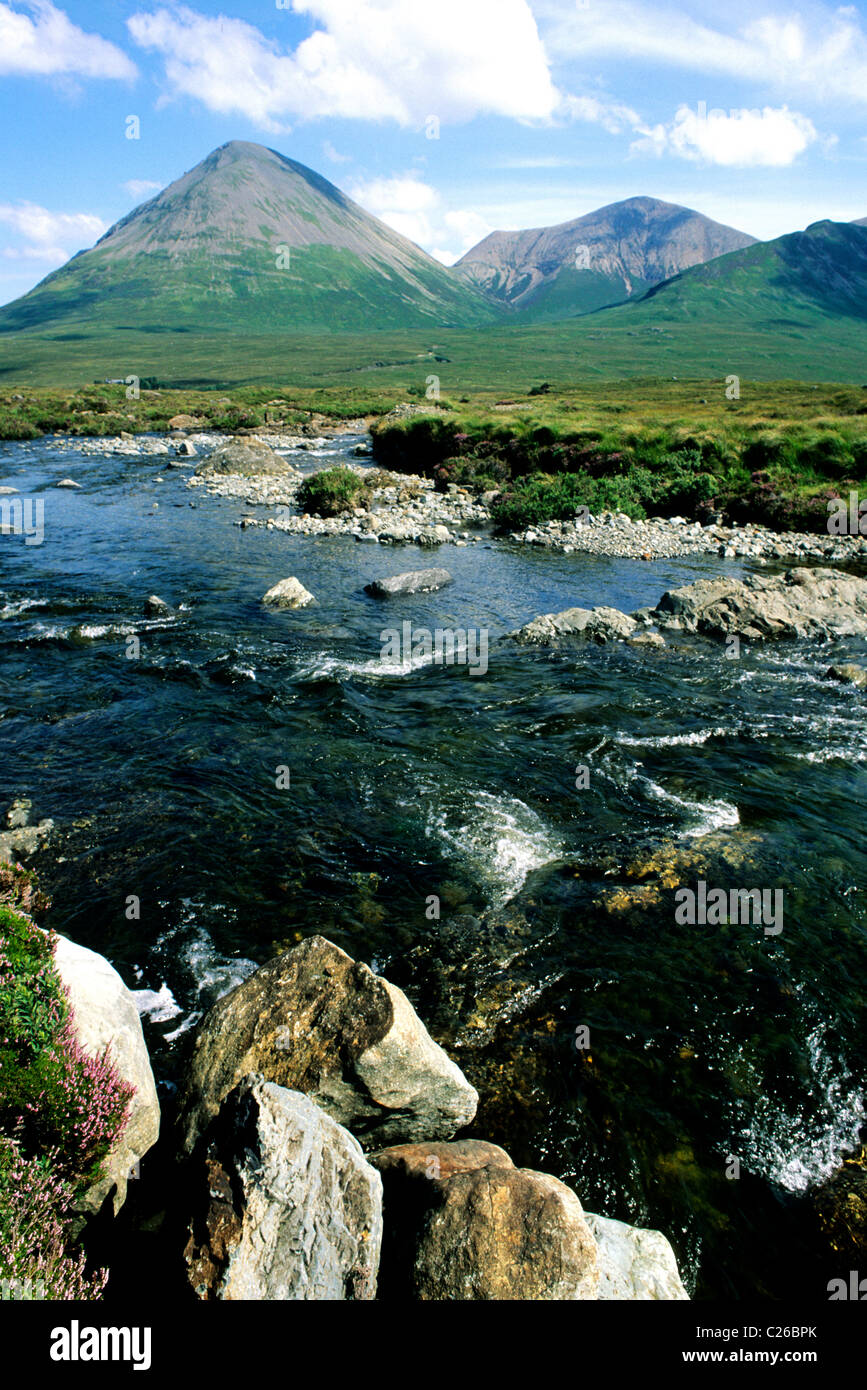 Red cuillin hills isle of skye scotland uk cuillin hill for River hill