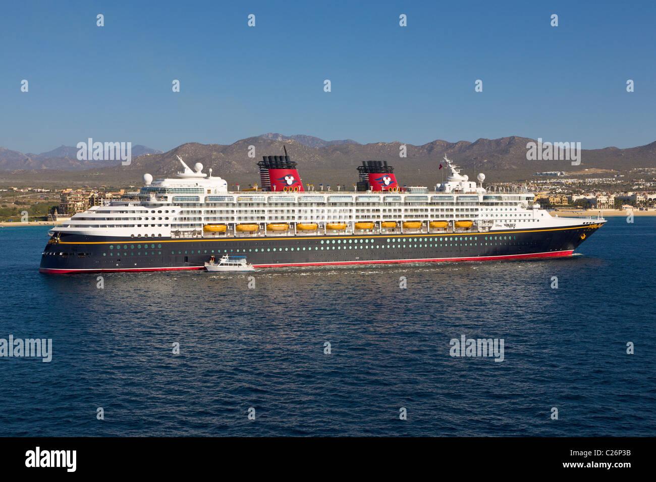 Disney Cruise Ship Wonder At Cabo San Lucas Baja California - Cruise mexico