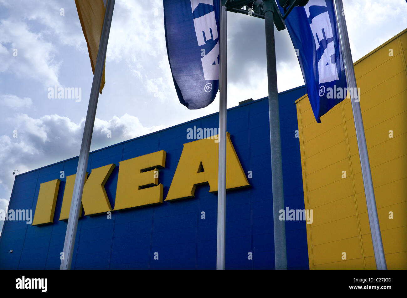 Ikea store london stock photo royalty free image for Ikea shops london