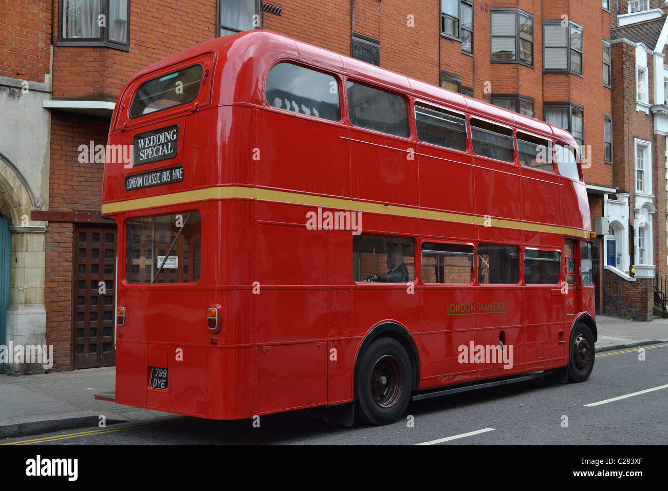 The Most Beloved Double Decker Bus Routemaster Now Used For Weddings Chelsea London UK ARTIFEX LUCIS