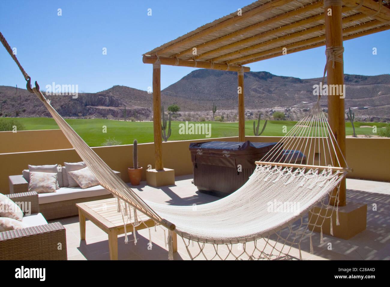 Rooftop Patio, Las Colinas Residential Area, Costa Baja Resort, La Paz,  Baja Sur, Mexico.
