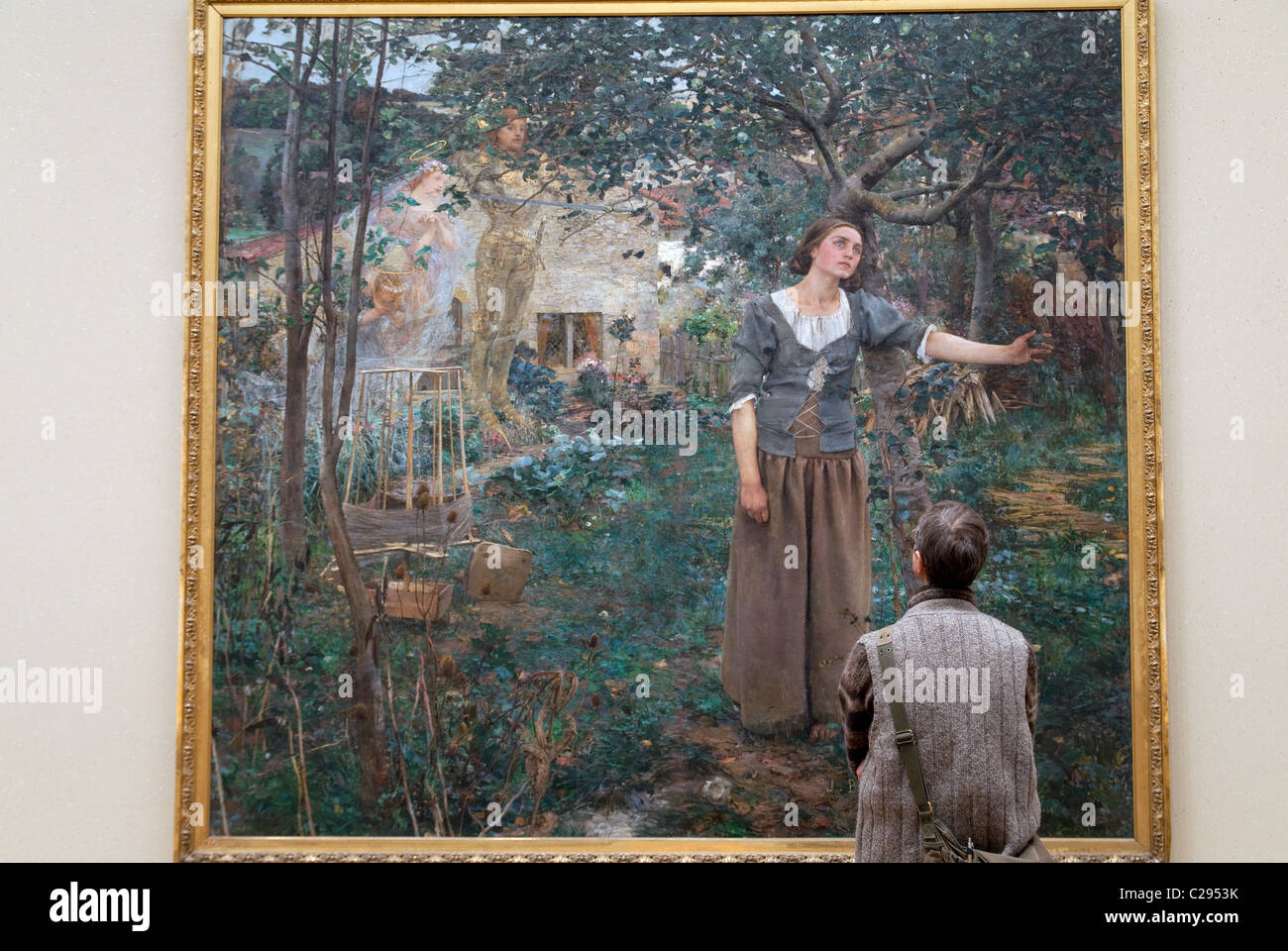 The power of art in joan of arc by jules bastien lepage