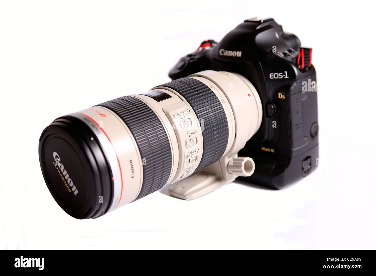 Modern Professional Camera body - Canon EOS 1 Ds Mark III and ...