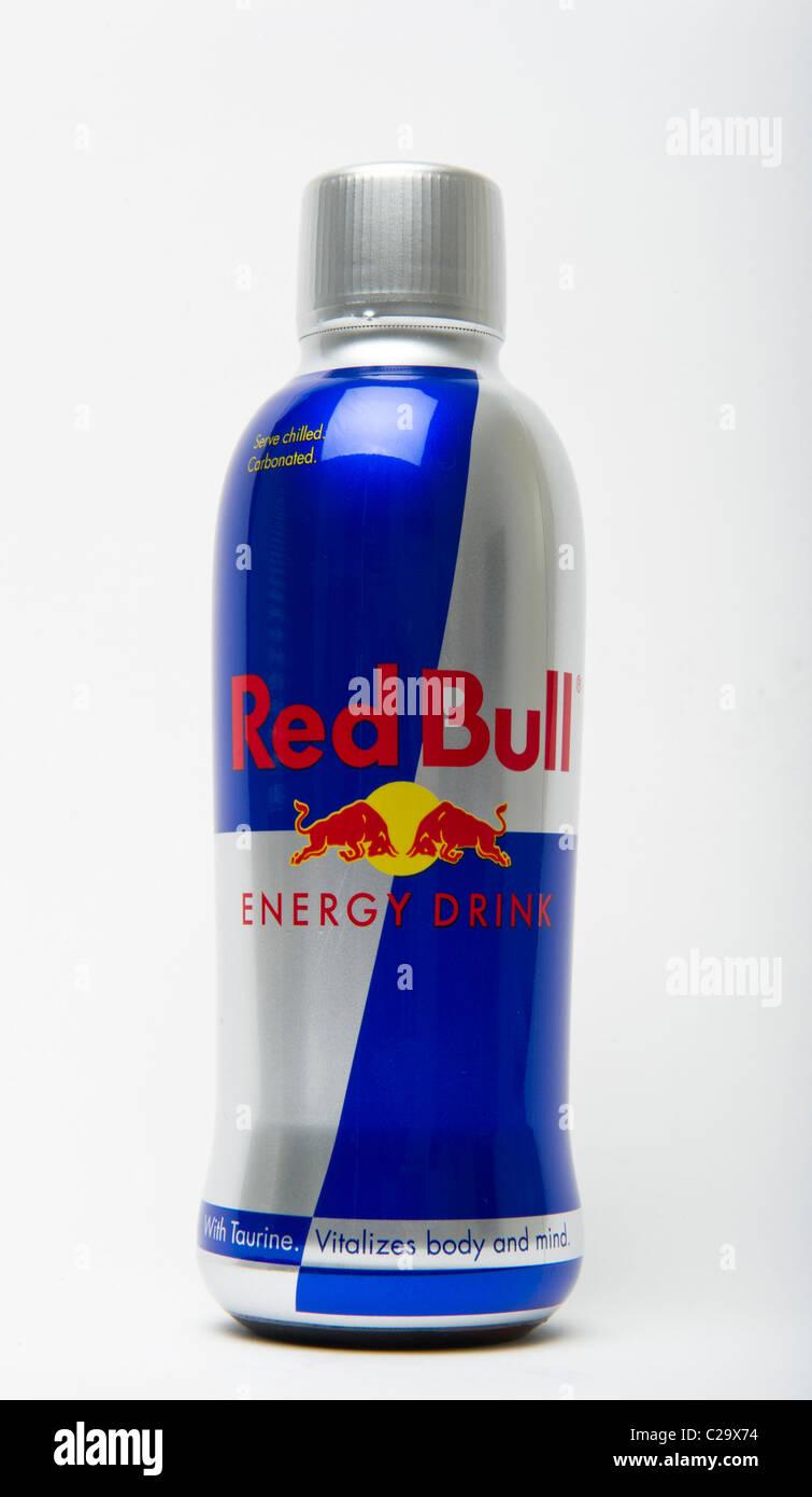 red bull energy drink bottle stock photo royalty free. Black Bedroom Furniture Sets. Home Design Ideas