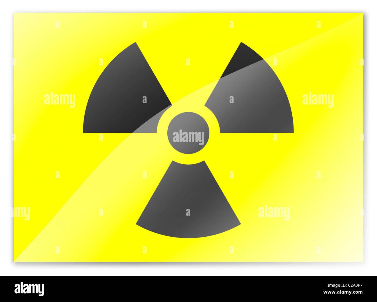 Radioactive symbol sign logo flag stock photo royalty free image radioactive symbol sign logo flag buycottarizona