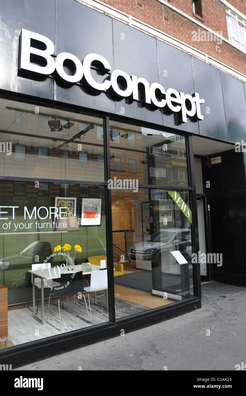 Boconcept furniture store tottenham court road london for Modern furniture london