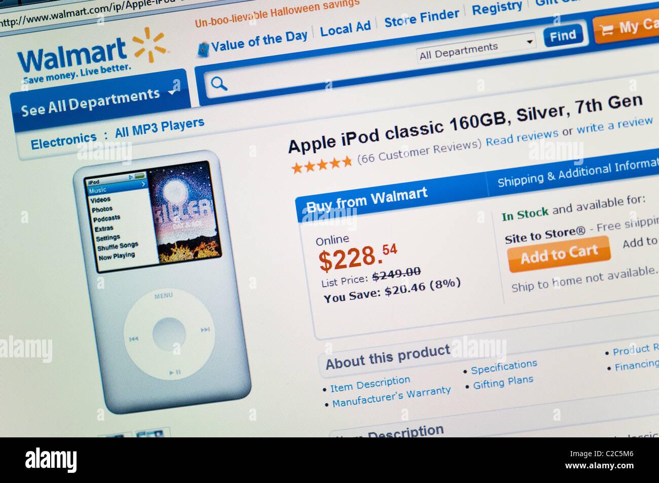 Walmart Website Screenshot Stock Photo, Royalty Free Image Aldi How To