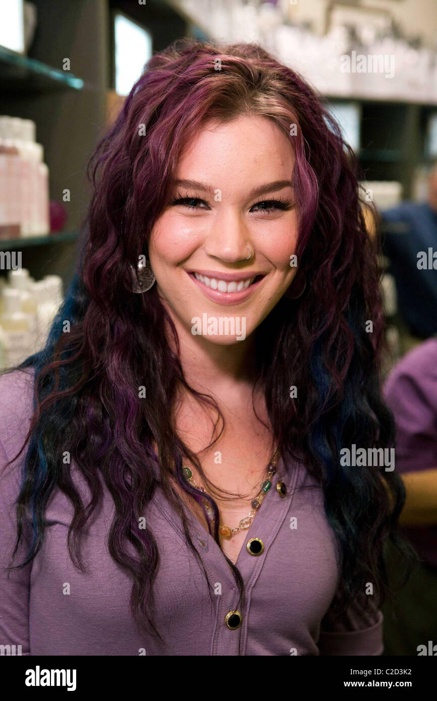 Joss Stone Ode To Rock And Roll Grand Opening Of The New Kiehls