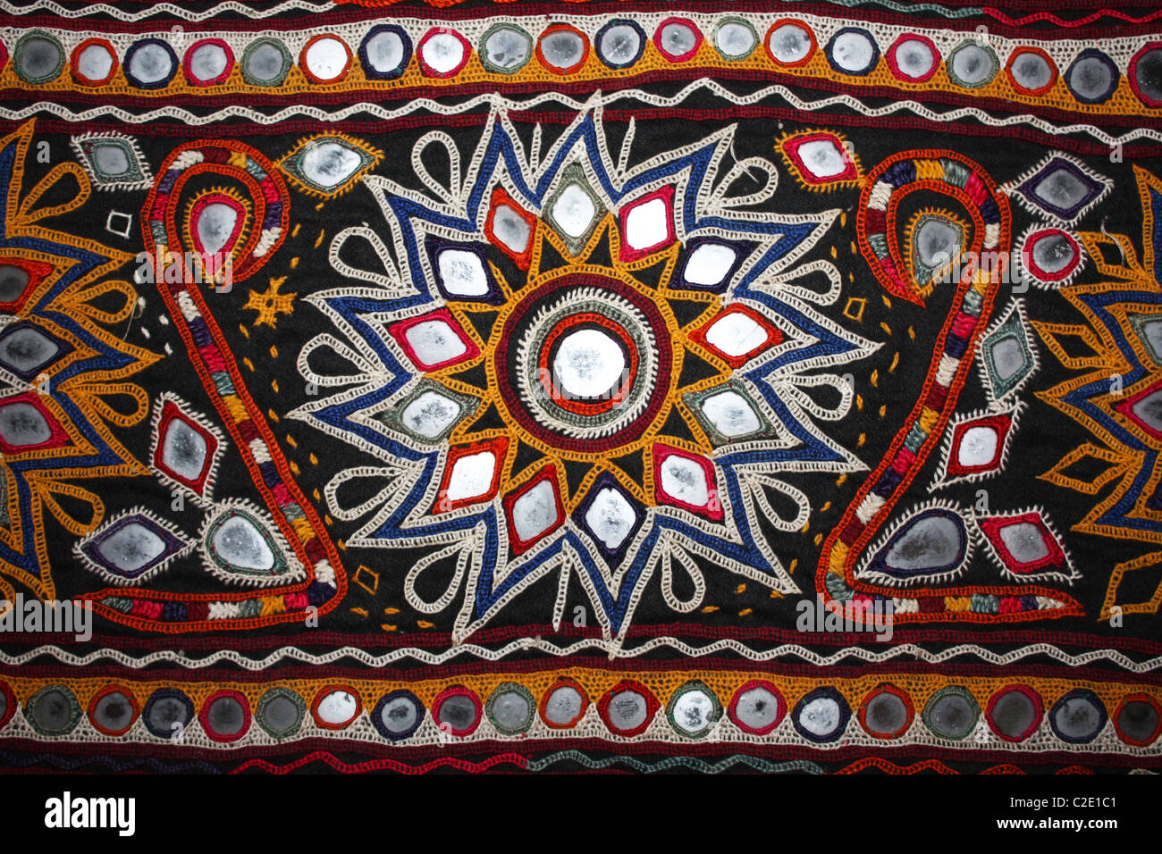 Gujarati Embroidery Toran Western India Stock Photo Royalty Free Image 35958497 - Alamy
