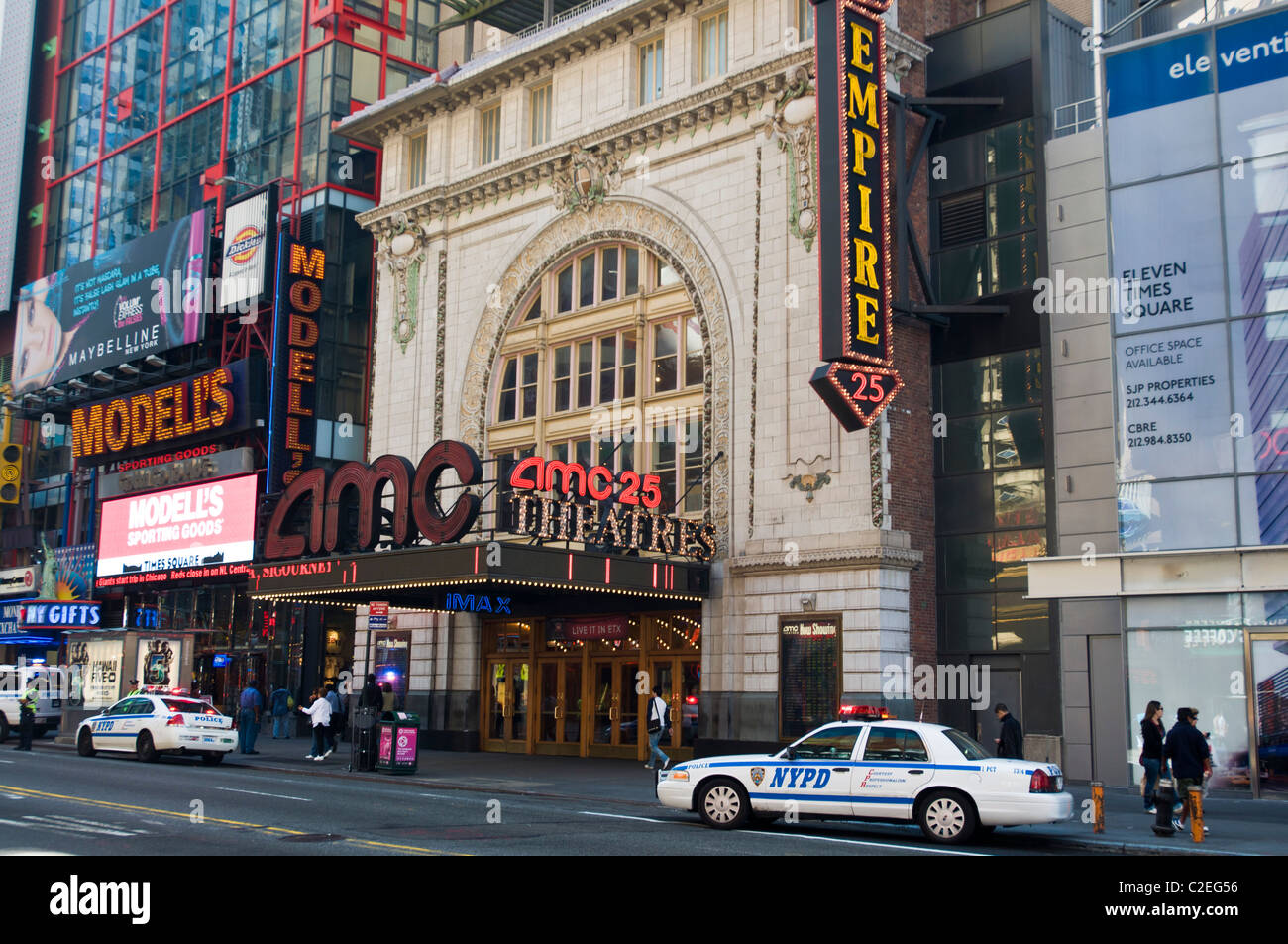 AMC 25 cinema, movie IMAX, theater, West 42nd St ...