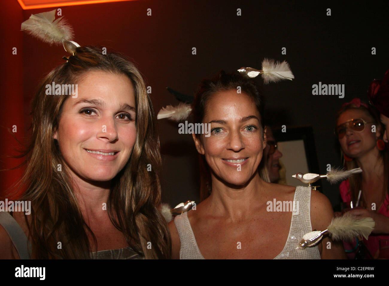 Aerin Lauder and Kelly Klein Allison Sarofim Halloween Party at a ...
