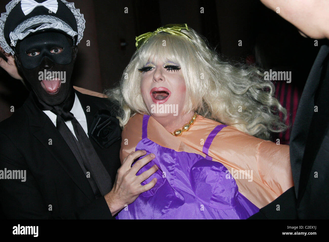 Lady Bunny and guest V Magazine Halloween Party at the Rose Bar in ...