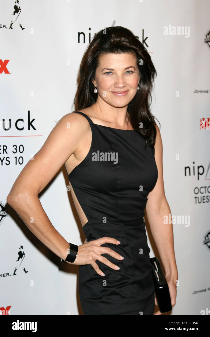 Daphne Zuniga Nip/Tuck Season 5 Premiere Screening held at the Stock Photo, Royalty ...