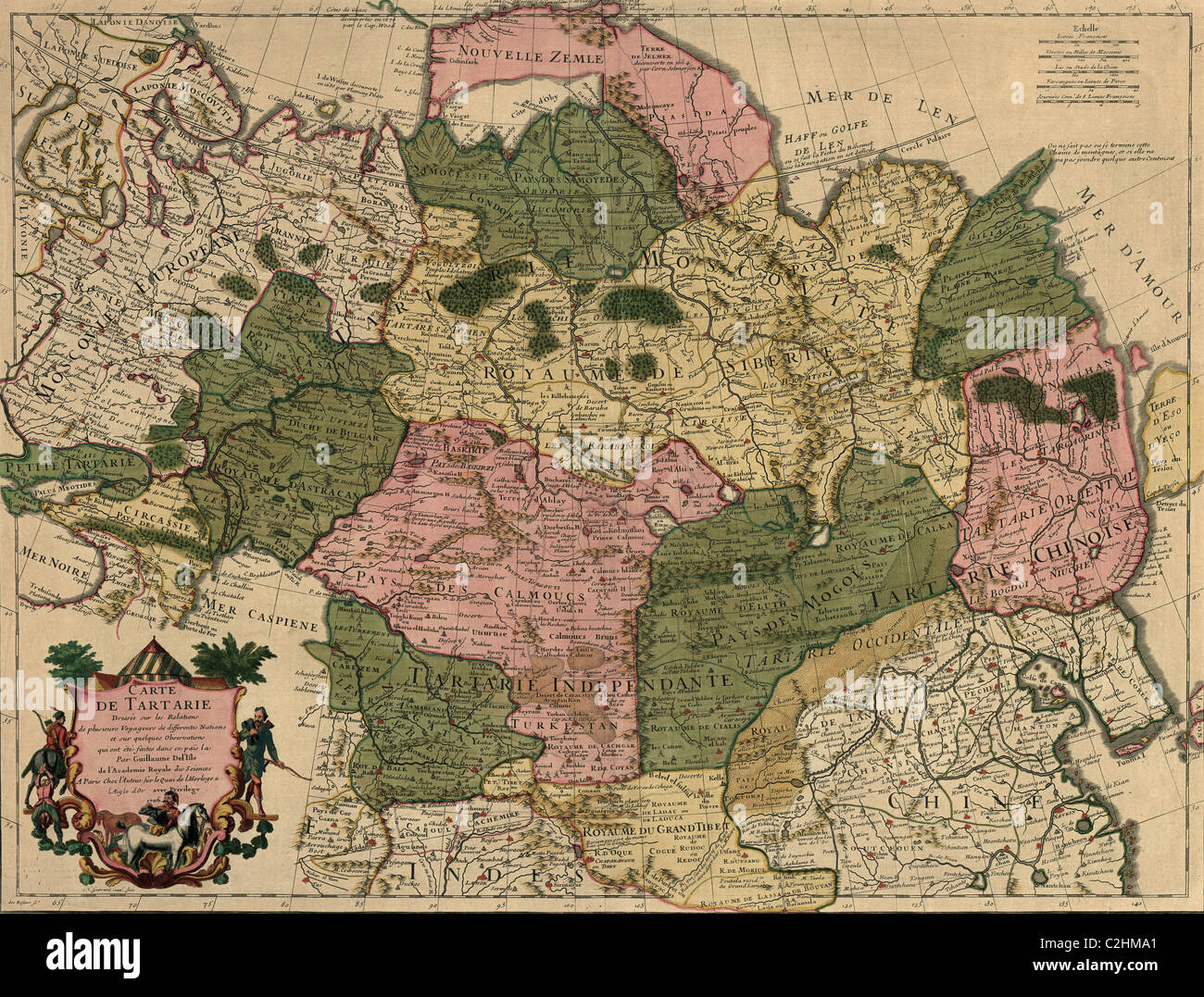 Siberia Russia Map