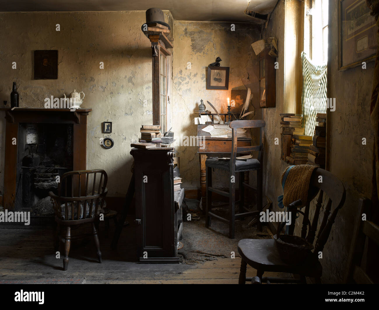 Dennis severs house spitalfields london interior of for 18th century farmhouse interiors