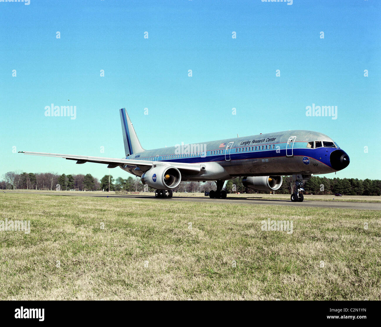 boeing b757 nasa langley 39 s b 757 test aircraft stock. Black Bedroom Furniture Sets. Home Design Ideas