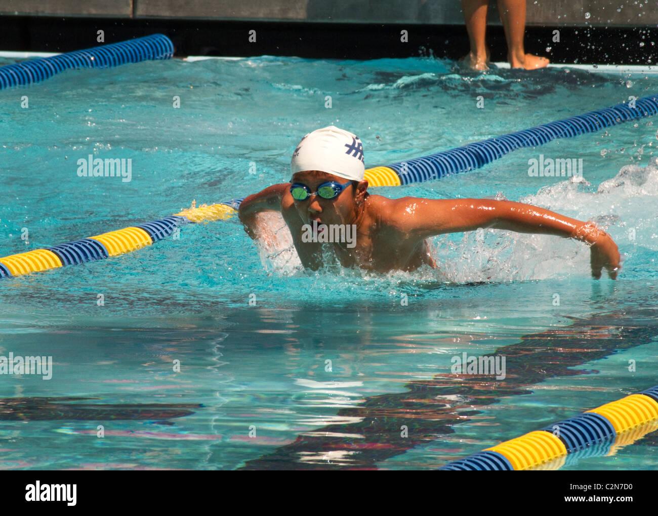 order of races in a swim meet