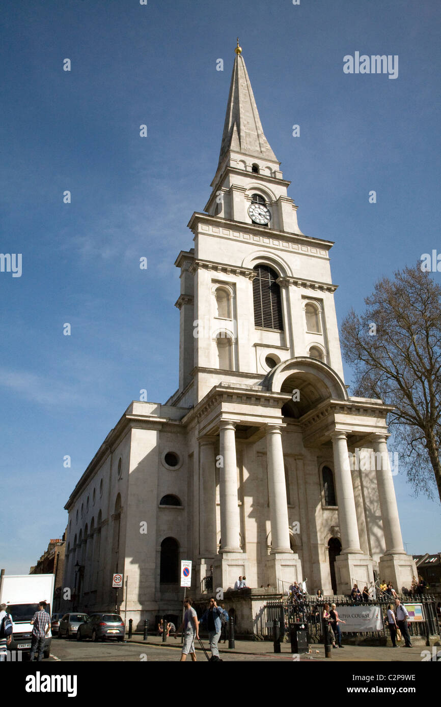 Spitalfields London: Christ Church, Spitalfields, East End, London, EC1