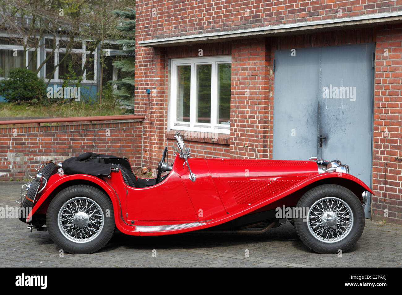 old timer old car maserati porsche alfa romeo jaguar ferrari stock photo royalty free. Black Bedroom Furniture Sets. Home Design Ideas