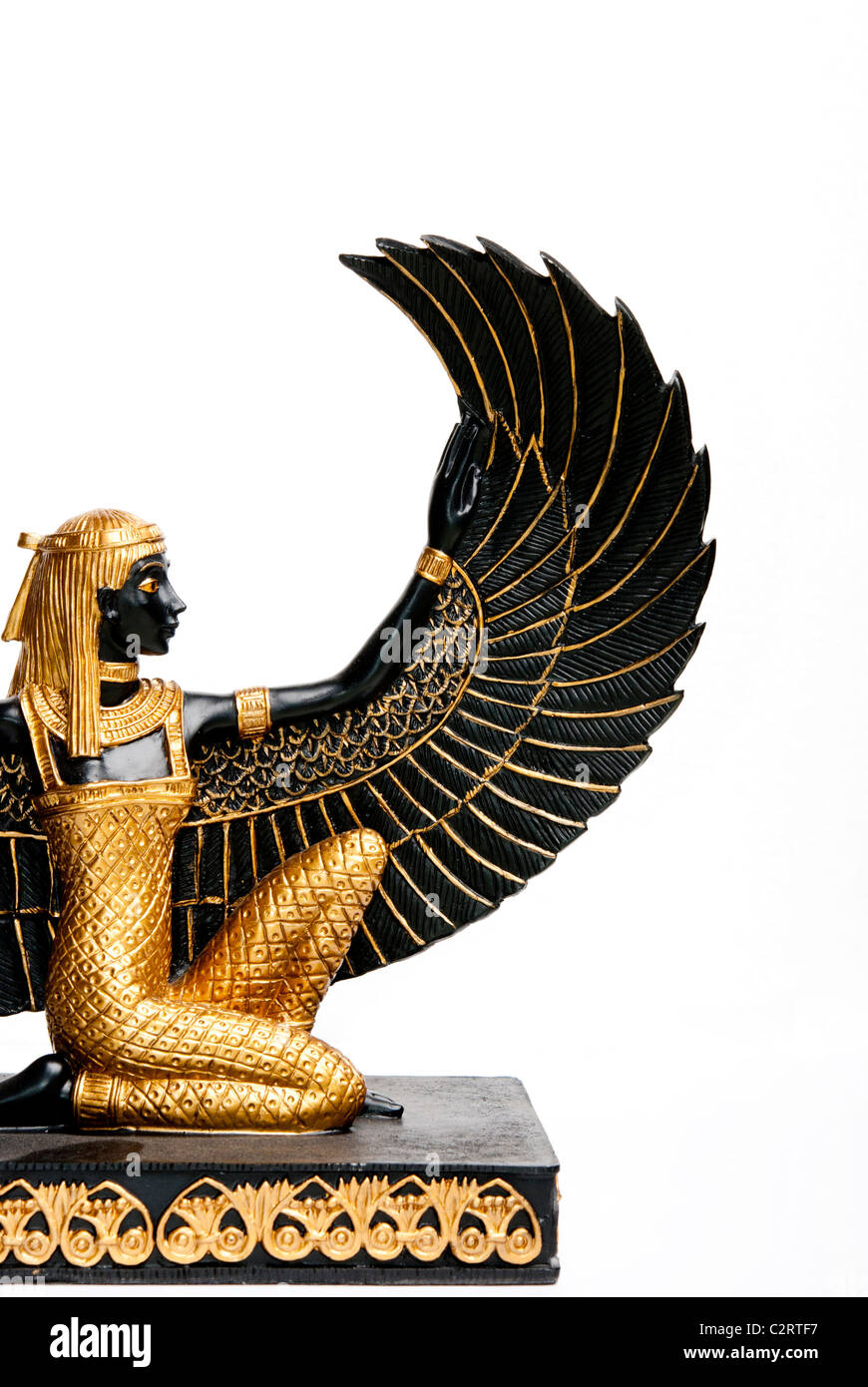 Maat or isis egyptian goddess decoration replica stock photo maat or isis egyptian goddess decoration replica biocorpaavc