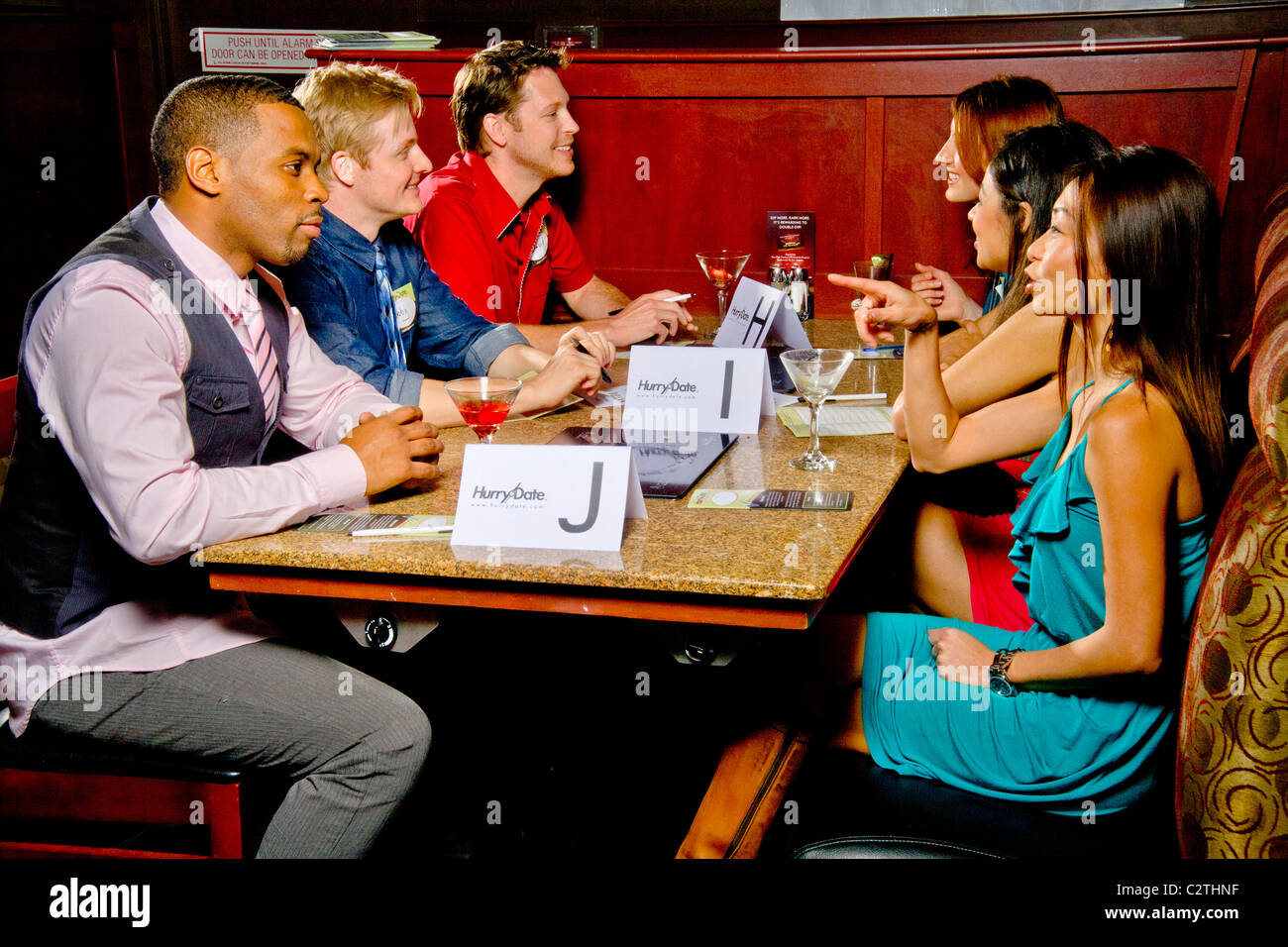 Hitch speed dating restaurant
