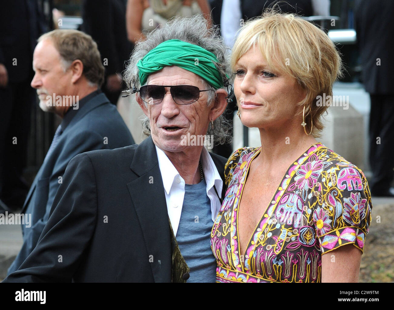 Keith Richards and Patti Hansen The wedding of Leah Wood ...