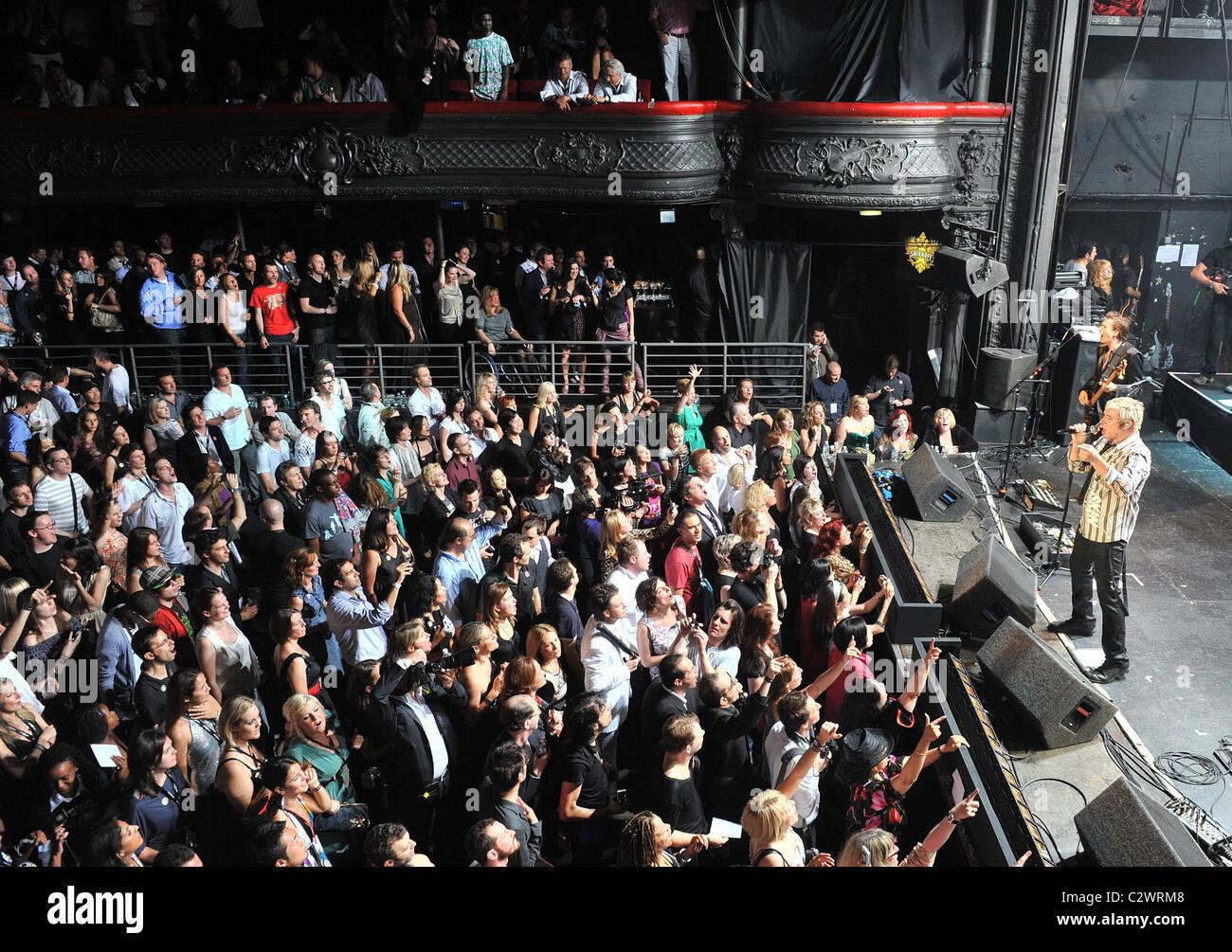 duran duran perform at the smirnoff experience at la cigale stock photo royalty free