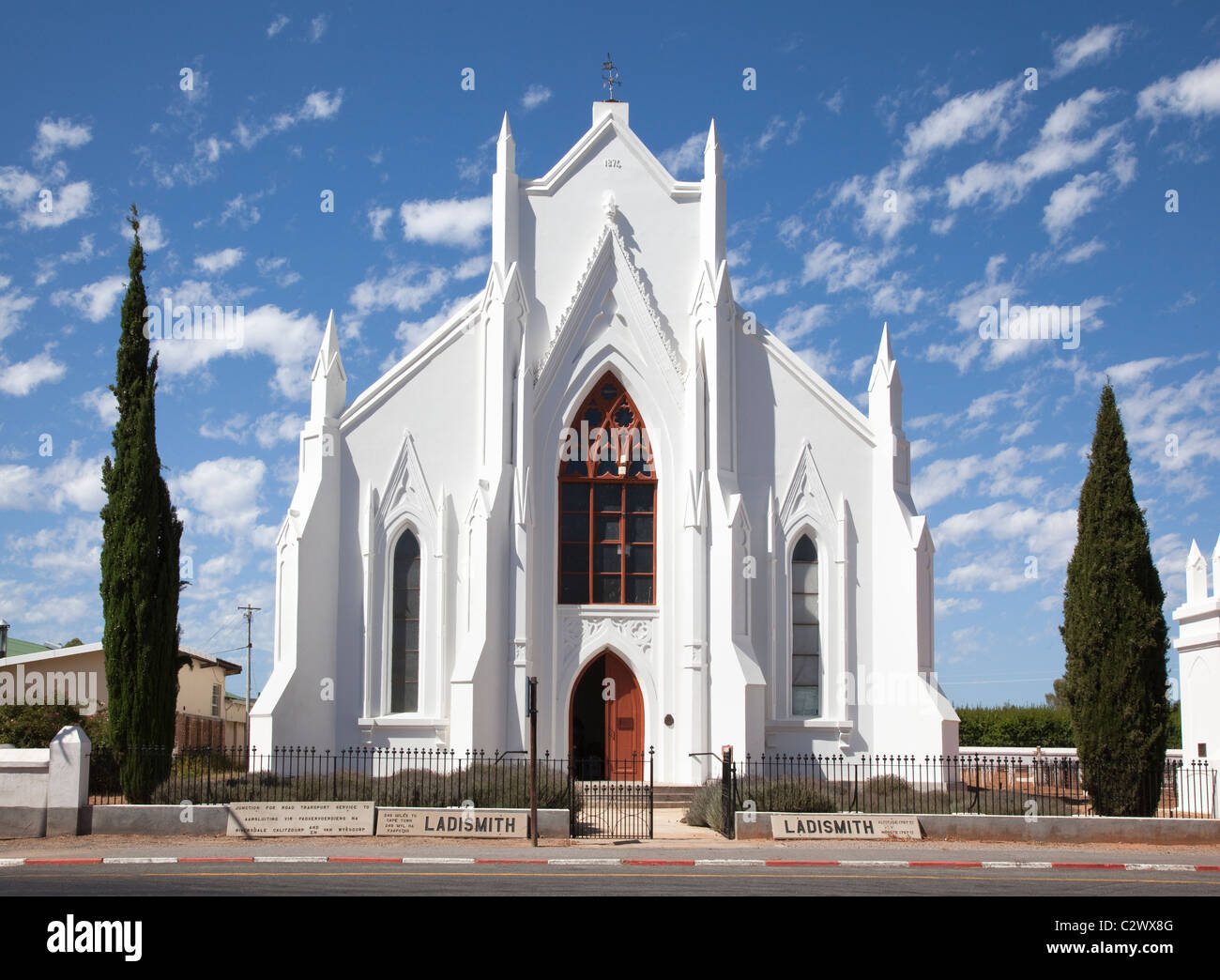 Ladismith South Africa  city images : Otto Hager Church, Ladismith, Western Cape, South Africa Stock Photo ...