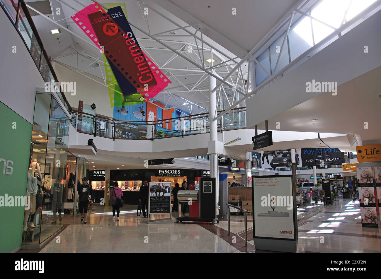 Centre place shopping centre interior victoria street for Rooms interior design hamilton nz