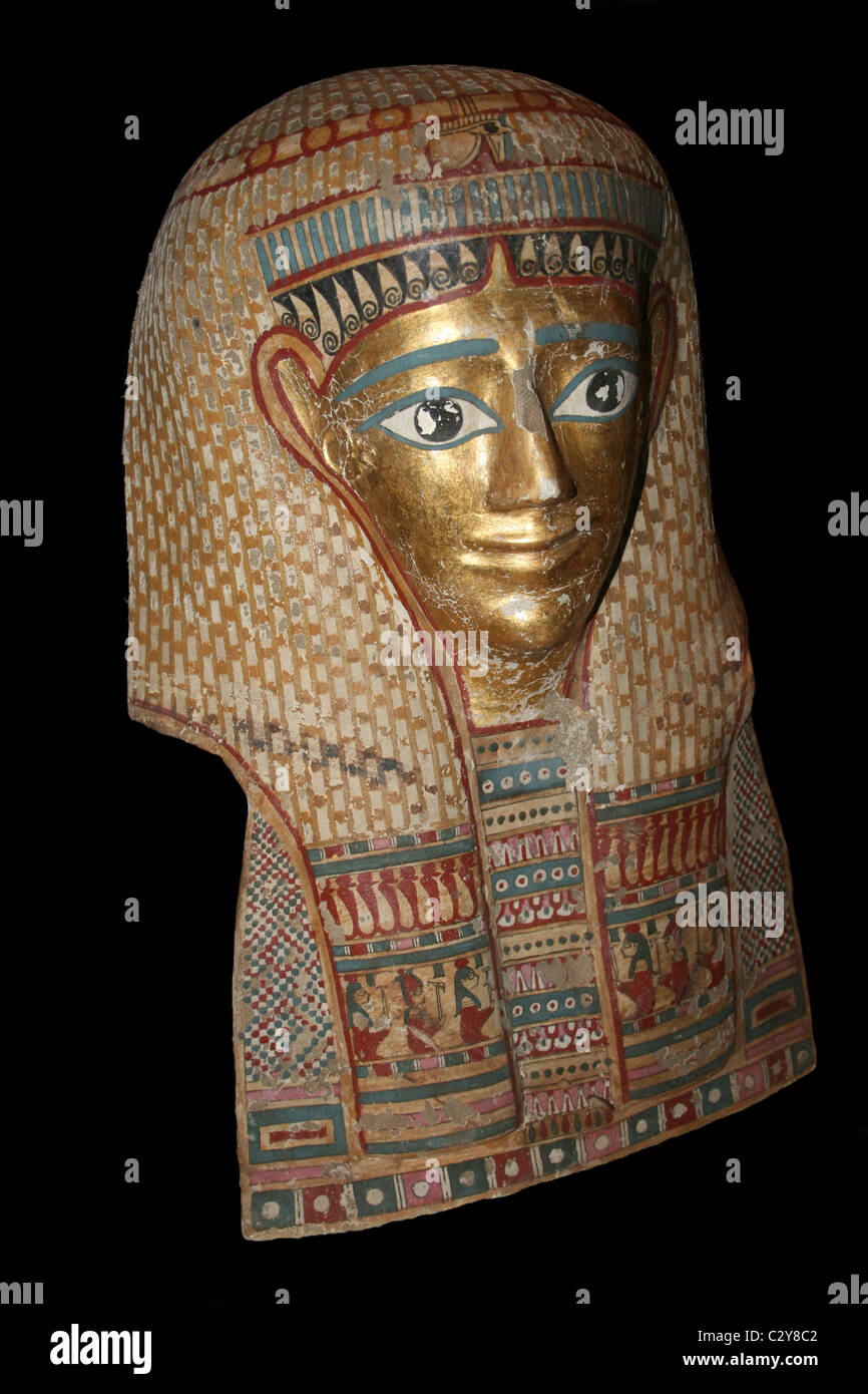 how to make an egyptian death mask