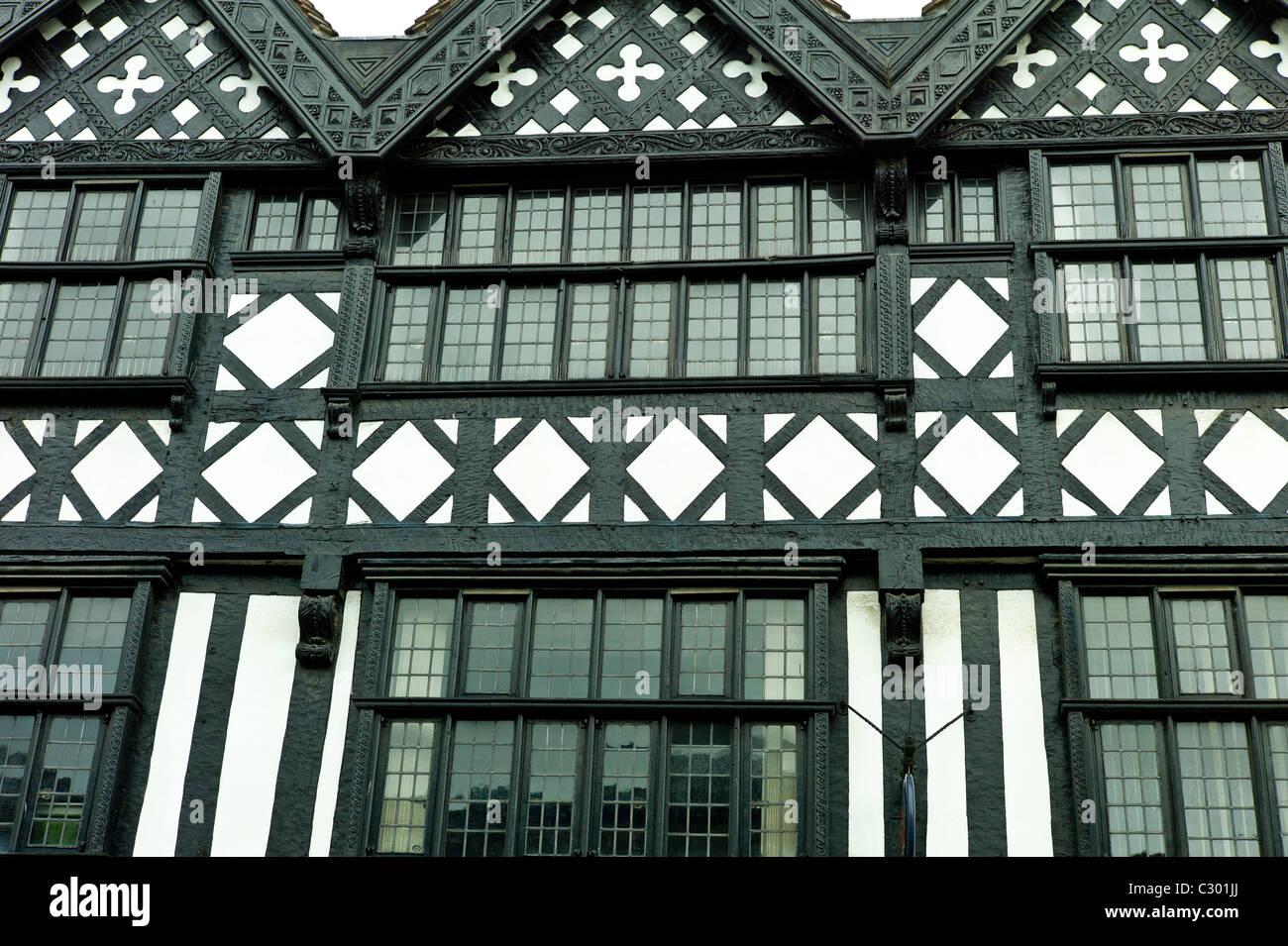 Tudor Windows tudor style timber-framed period house with leaded light windows