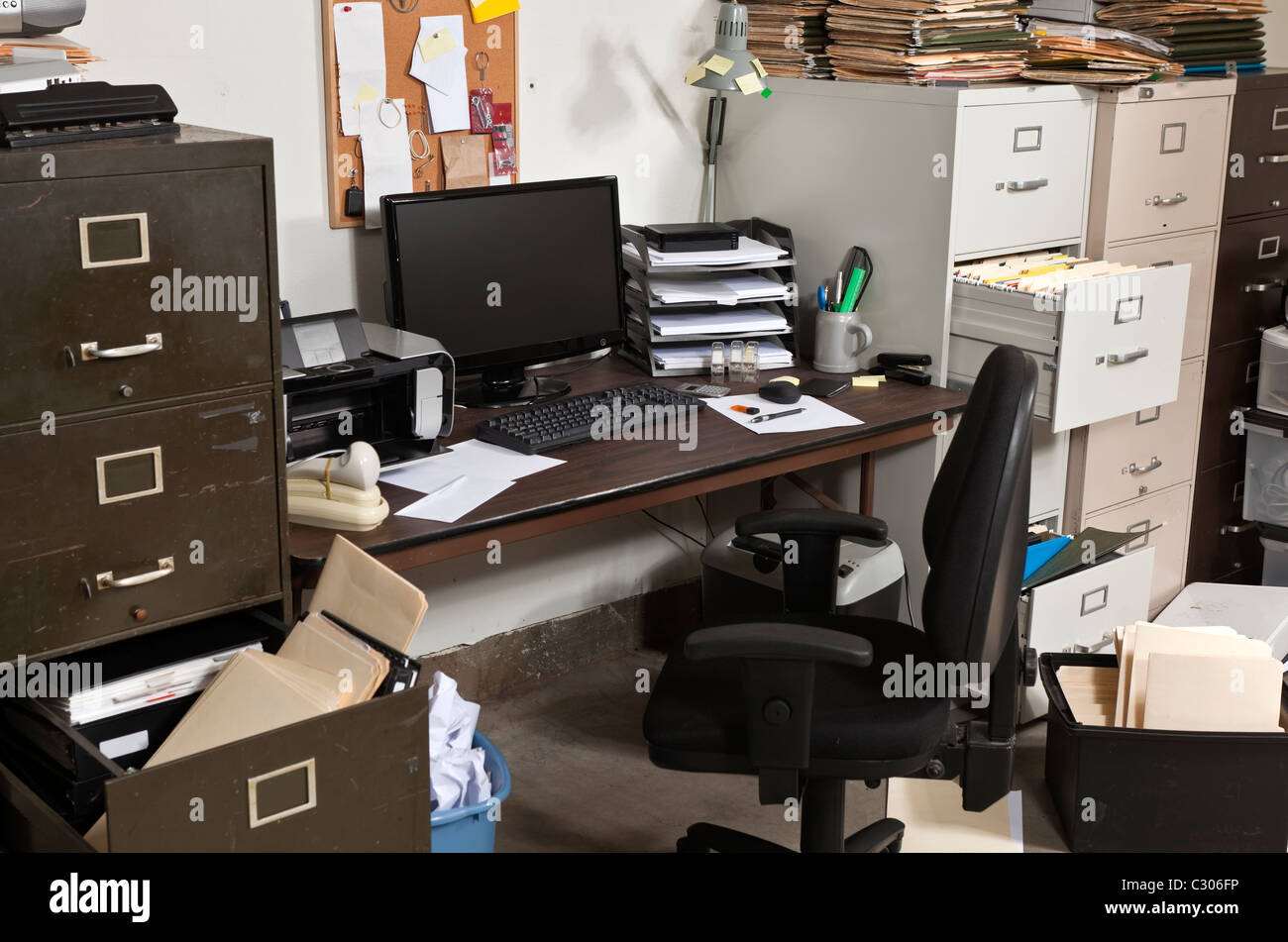 messy office pictures. Untidy Office With Messy File Cabinets Pictures