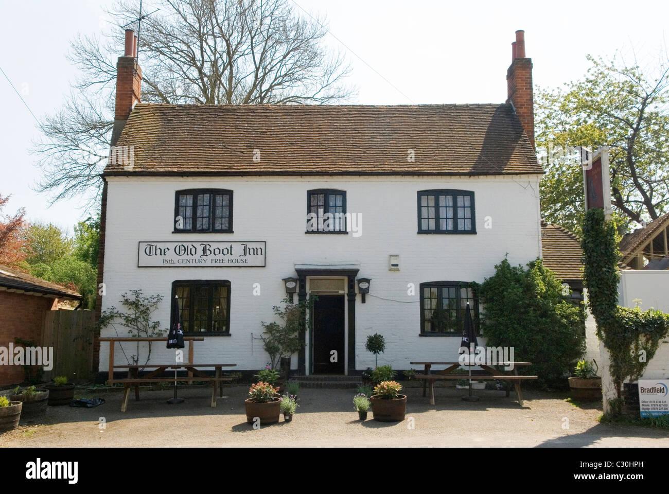 Old Boot Inn Stanford Dingley Reading Berkshire Uk Where