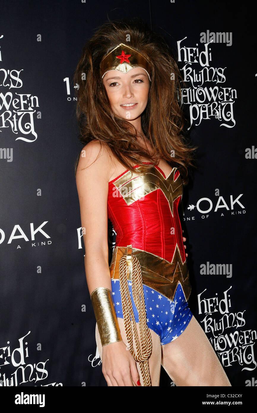Model Renata Maciel Heidi Klum's Halloween Party at 1 Oak New York ...