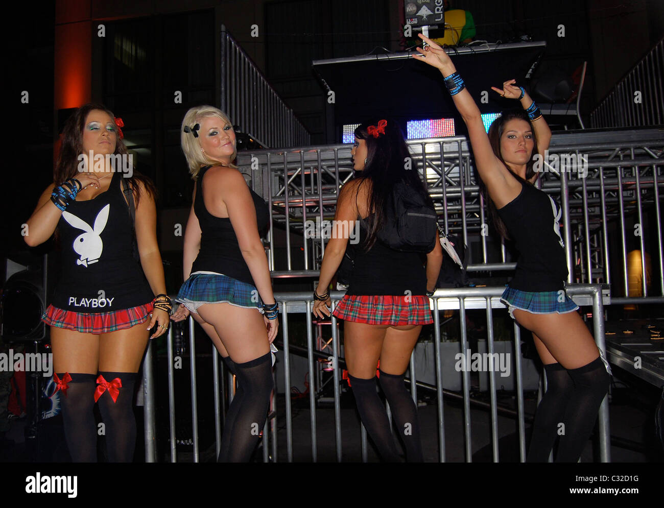 Guests Kendra Wilkinson hosts Playboy Halloween Party at Moonstone ...