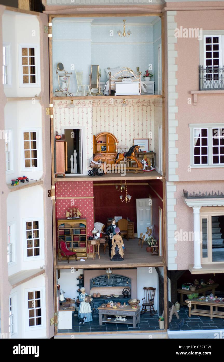 interior of dolls house interior dolls house model replica