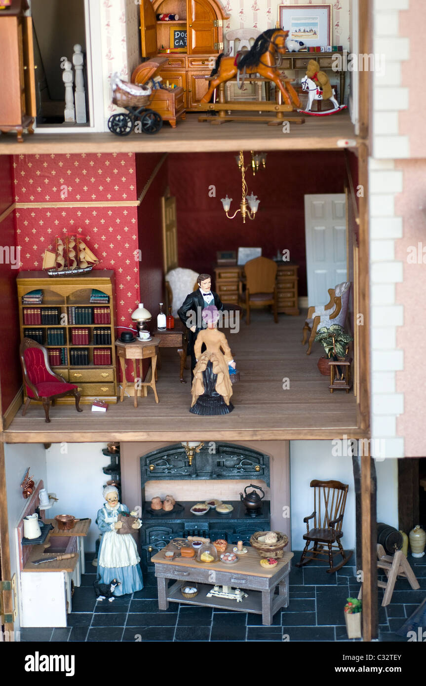 Interior Of Dolls House Stock Photos  Interior Of Dolls House - Dolls house interior
