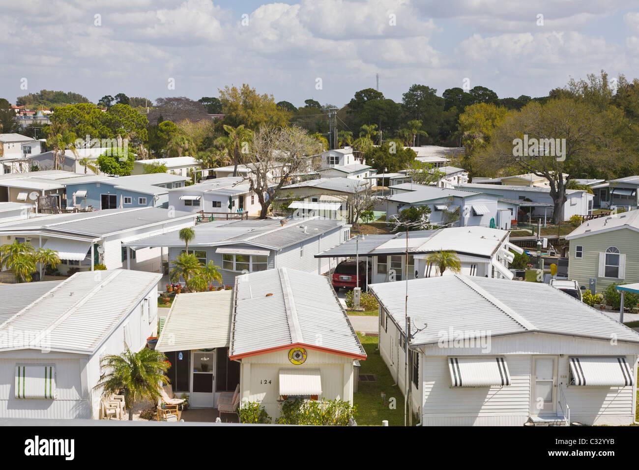 Mobile Home Park In Venice Florida