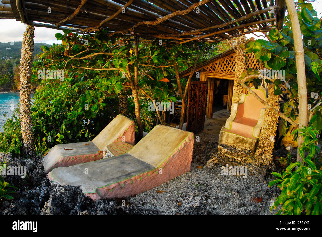 Fig Tree House Hut At Great Huts An Eco Resort Village Of