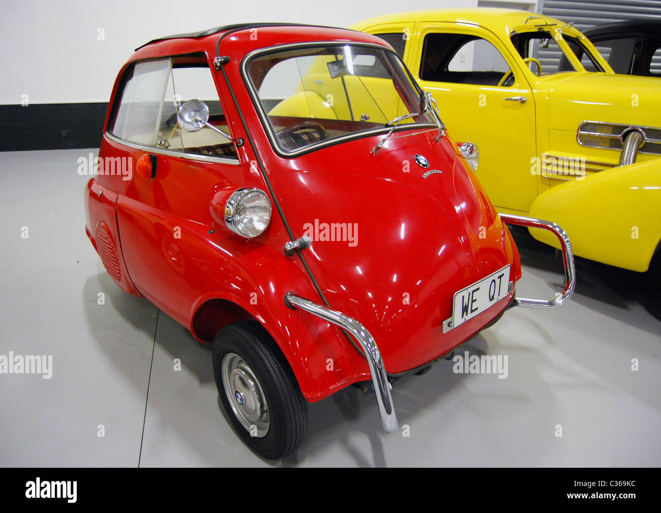 Bmw Isetta Car At Classic Cars Museum Nelson South Island