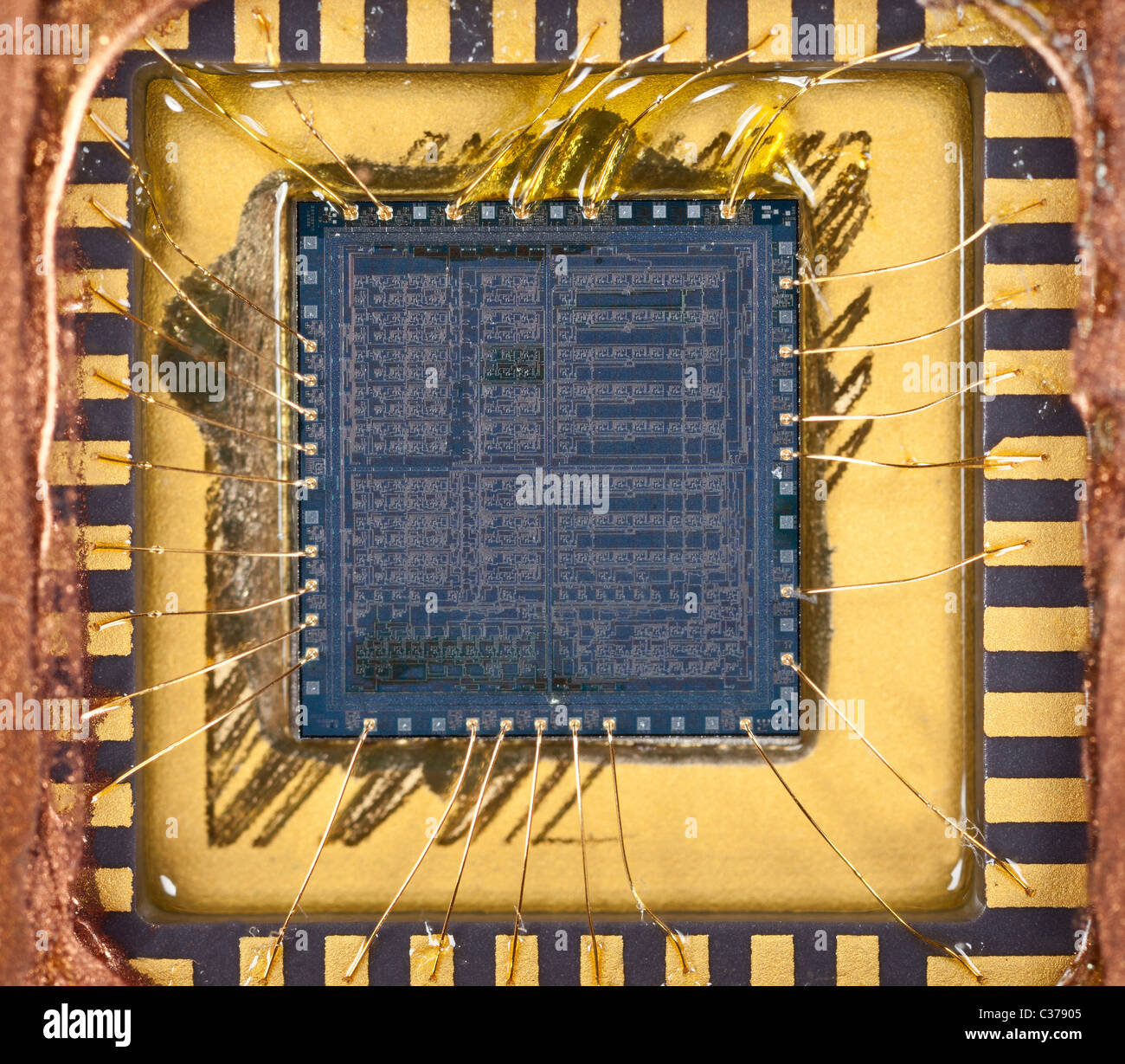 semiconductors the silicon chip Silicon chip - electronic equipment consisting of a small crystal of a silicon semiconductor fabricated to carry out a number of electronic functions in an integrated circuit micro chip , microchip , microprocessor chip , chip.