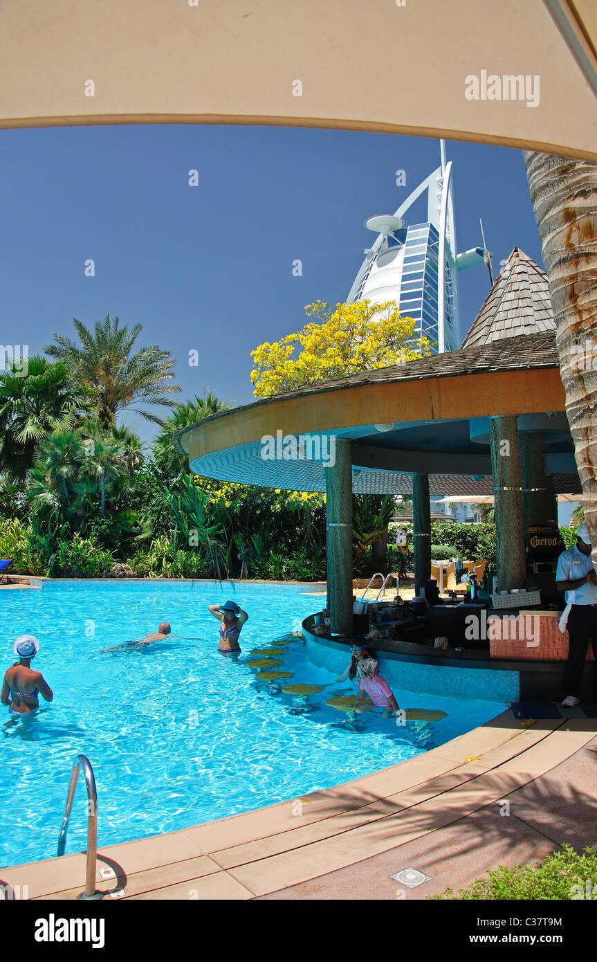 Hotel Swimming Pool Jumeirah Beach Hotel Jumeirah Dubai United Stock Photo Royalty Free