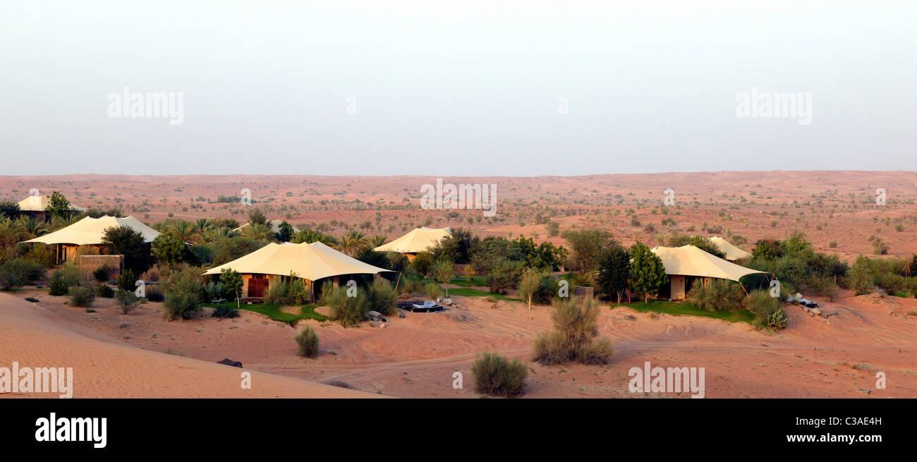 United Arab Emirates Dubai Al Maha desert resort a luxury c& in desert with bungalows tents with air conditioned u0026 inidual & United Arab Emirates Dubai Al Maha desert resort a luxury camp in ...