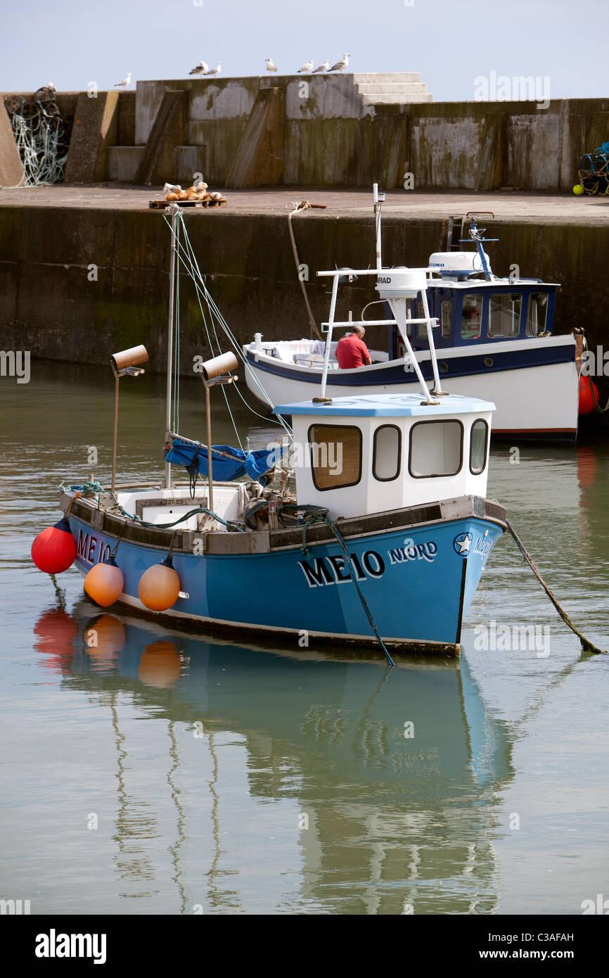 Inshore fishing boats johnshaven harbour ne scotland uk for Inshore fishing boats