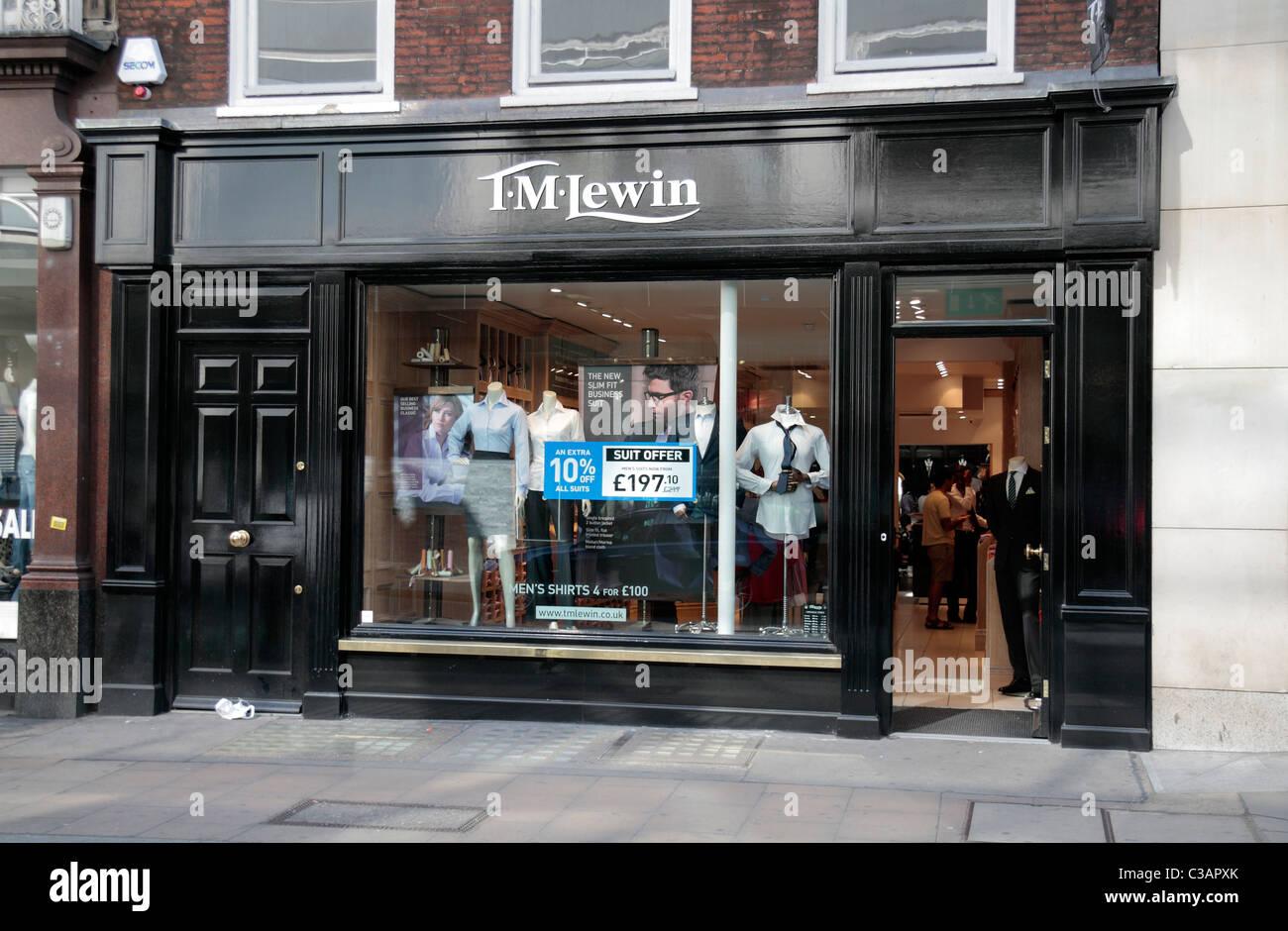 Tm lewin online shopping