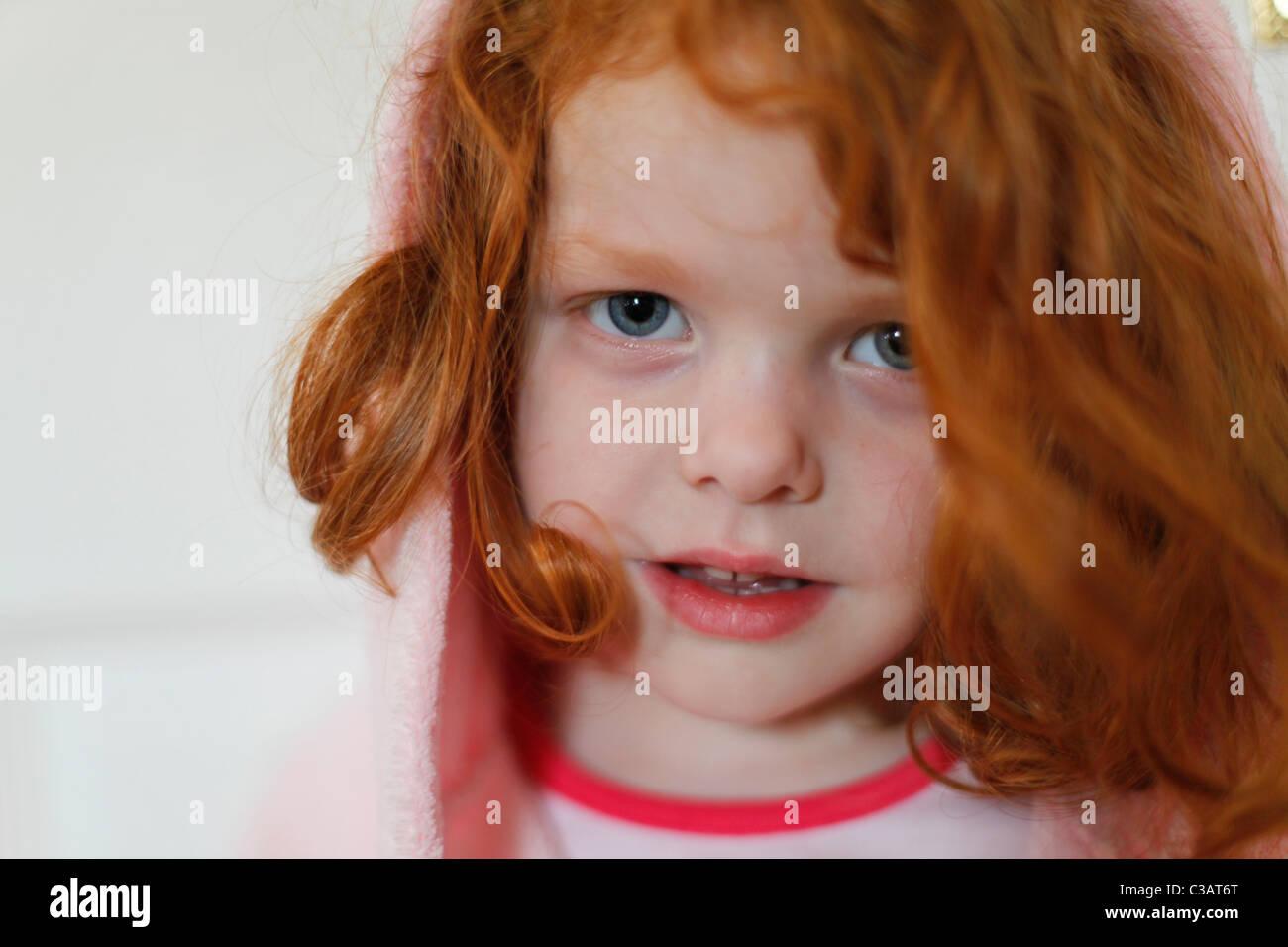 little girl with curly red hair wwwpixsharkcom