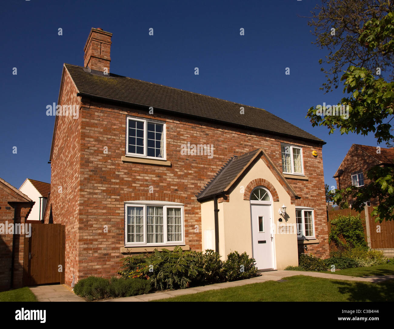 newbuild home in traditional english cottage style built