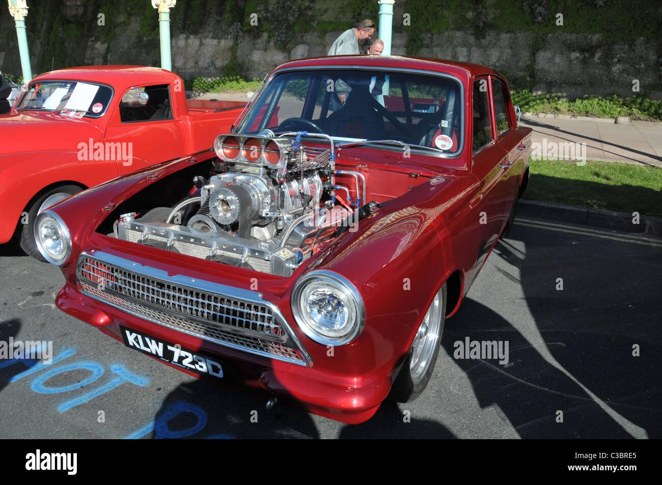 Ford Cortina Mk 1 Hot Rod Stock Photo, Royalty Free Image: 36524605 ...