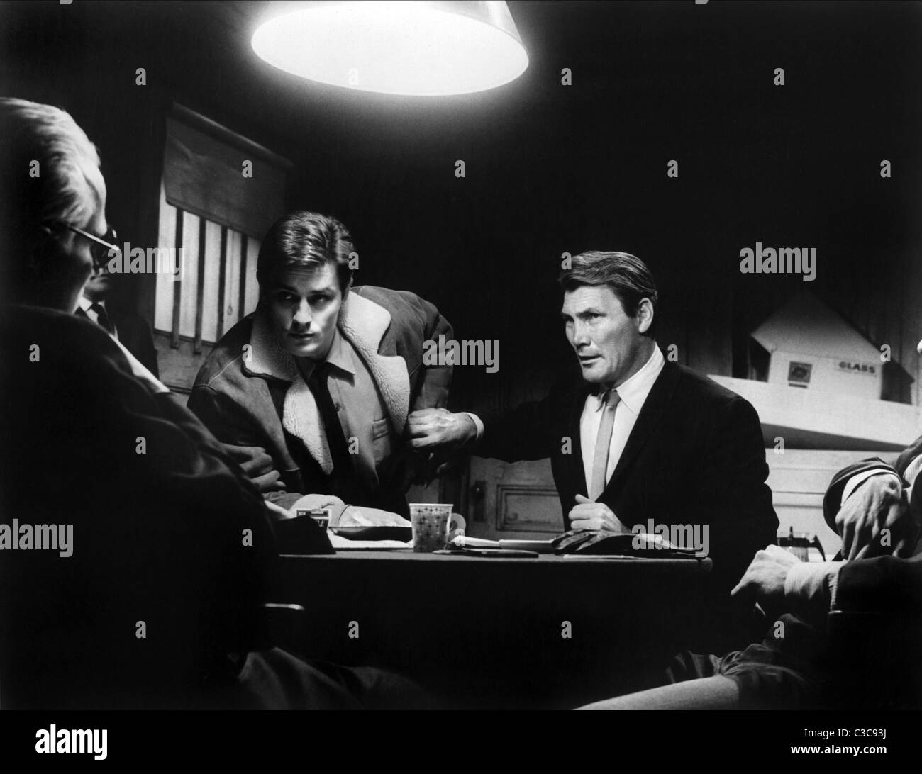 Jack Palance Filmes Ideal alain delon & jack palance once a thief (1965 stock photo, royalty